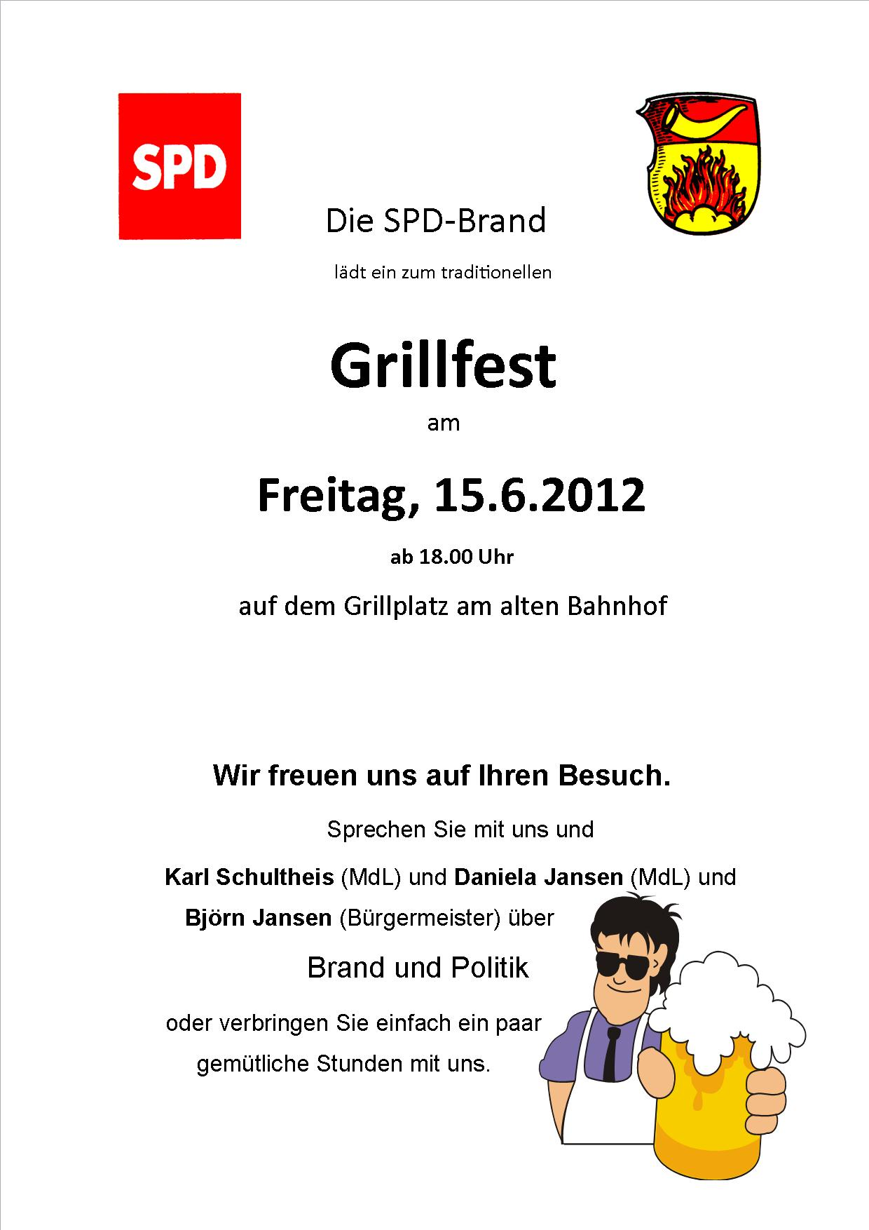 Einladungstext fur grillfest