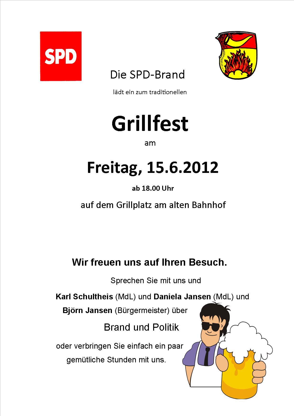 Einladungstext Fur Grillfest Galerie   Labandcraft.com ...